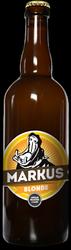 Bière MARKUS Blonde 5° 75cl