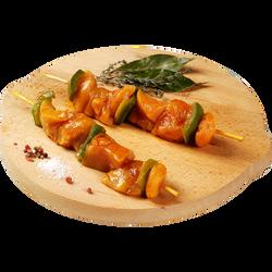 Brochette de poulet à l'indienne, MAITRE JACQUES, 2x12 pièces