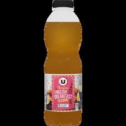 Boisson au thé English Breakfast citron U, bouteille de 1l