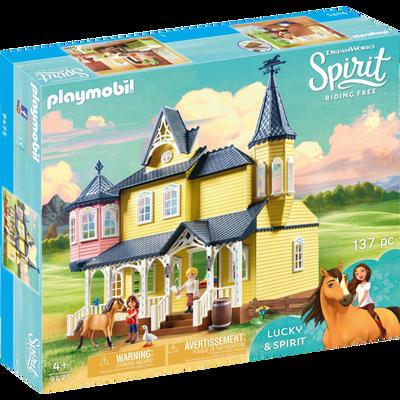 Maison de lucky PLAYMOBIL Spirit