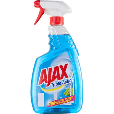 Nettoyant pour vitres triple action AJAX, 750ml