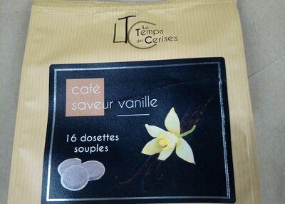CAFE SACHET DOSETTES VANILLES