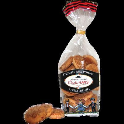 Streusel aux pommes Biscuiterie Hansi FORTWENGER 200g