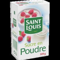 Sucre en poudre ST LOUIS, 500g