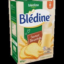 Lait croissance Blédine saveur briochée BLEDINA, dès 8 mois, paquet de500g