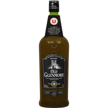 Scotch Blended  Whisky Old Glenmore U, 40°, Bouteille De 1l