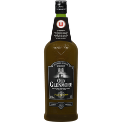 Blended Scotch Whisky Old Glenmore U, 40°, bouteille de 1l