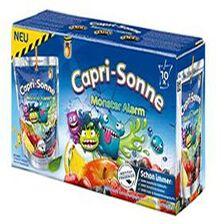 Boisson aux fruits parfum Monster Alarm CAPRI-SONNE, 10  poches de  20cl