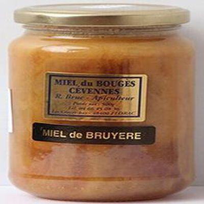 Miel de bruyère du Bouges Cévennes, 500g