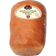 Brioche au véritable saucisson cuit de Lyon, RANDY, 600g