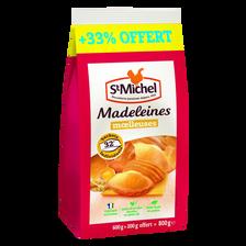 St Michel Madeleines Coquilles Aux Oeufs Plein Air , X24 Soit 600g + 33% Offert