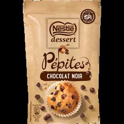 Pépites de chocolat noir NESTLE DESSERT, sachet de 100g