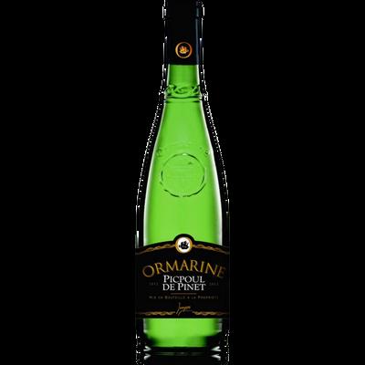 Vin blanc Coteaux-du-Languedoc Picpoul de Pinet Ormarine, 75cl