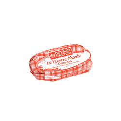 Beurre moulé demi sel PAYSAN BRETON, 80%mg, 125g