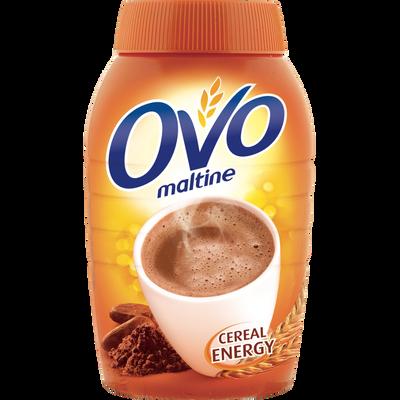 Poudre chocolatée instantanée au malt et céréales OVOMALTINE, 800g