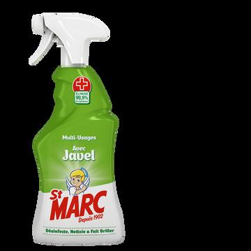St Marc Nettoyant Ménager Désinfectant Avec Javel Cuisine Et Salle De Bain Stmarc, Spray De 500ml