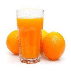 Jus d'orange frais 100% pur jus, 1L