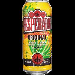 Bière aromatisée téquila DESPERADOS, boîte de 50cl