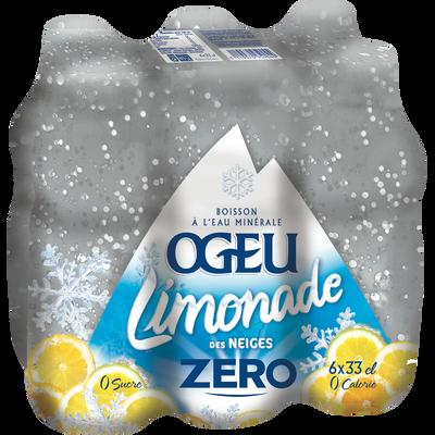 Limonade des Neiges light OGEU, 33cl