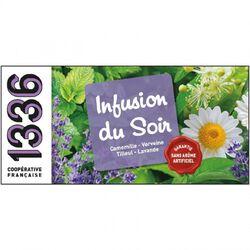 INFUSIONS DU SOIR 25 SACHETS 1336
