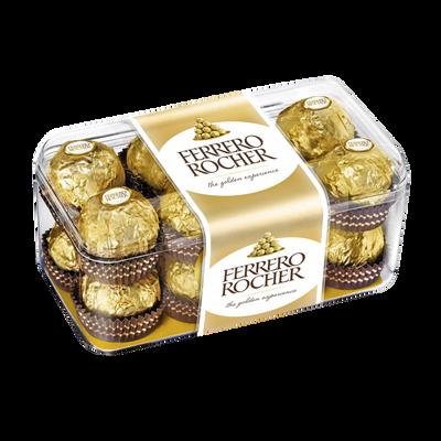 Rocher au chocolat FERRERO, x16, boîte de 200g