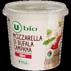From.pâte filée lt past.bufflonne mozzarella U BIO billes 120g