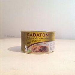 CREME SABATON MARRONS CONS 1/4