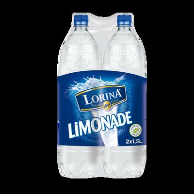 Limonade LORINA Double Zest, 2 bouteilles de 1,5 litre