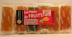 Les pâtes de fruits LA FABRIQUE GOURMANDE sachet de 180g