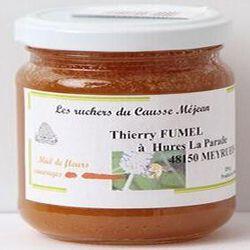 Miel de fleurs sauvages, Les ruchers du Causse Méjean, 250g