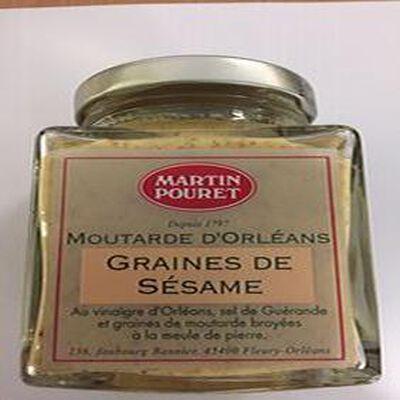 MOUTARDE D'ORLEANS GRAINES DE SESAME
