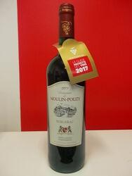 Vin Rouge Bergerac, Domaine de MOULIN-POUZY, 75cl