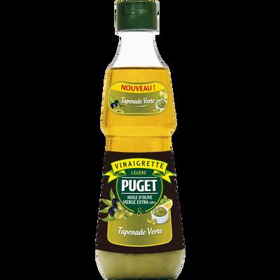 Vinaigrette légère biphasée tapenade verte, PUGET, 33CL