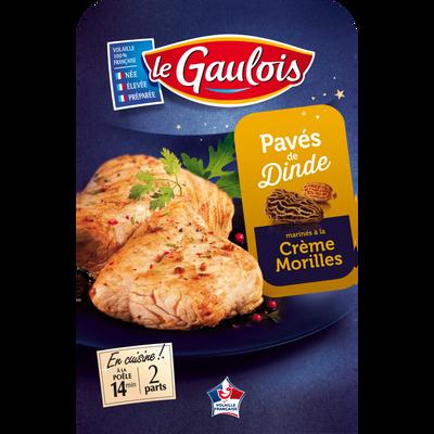 Pavé de dinde crème/morilles, LE GAULOIS, 250g