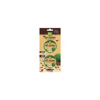 BOITES APPATS FOURMIS KB 2X10G-A BASE SPINOSAD-INSECTICIDE