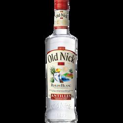 Rhum blanc d'assemblage des antilles OLD NICK, 40°, bouteille de 70cl