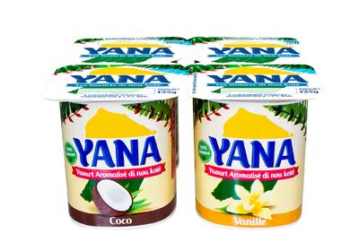 YANA AROMATISES X4 VANILLE/COC