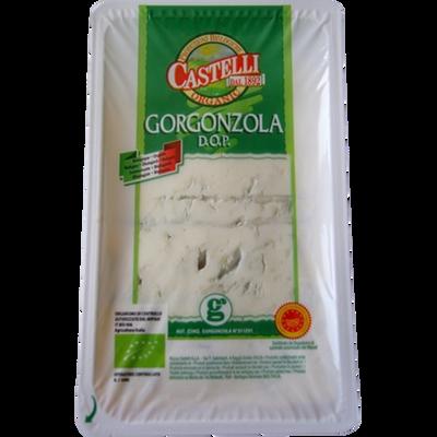 Gorgonzola AOP bio lait pasteurisé 27% de MG CASTELLI, 150g