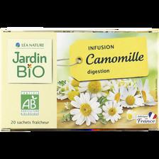 Infusion camomille bonne digestion JARDIN BIO, 28g