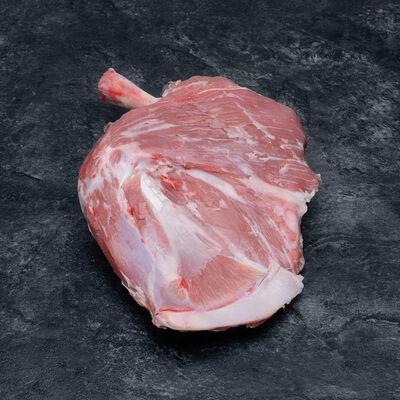 Agneau de lait - épaule **, avec os, à rotir