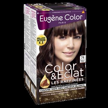 Eugène Color Coloration Permanente Marron Moka N°74 Eugène Color, X2