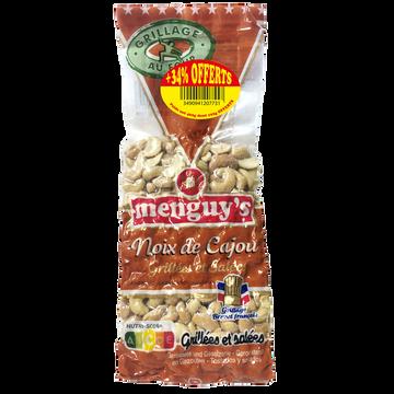 Menguy's Noix De Cajou Grillées Salées Menguy's 300g + 34% Offerts