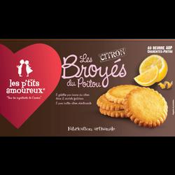 Broyé au citron LES PETITS AMOUREUX, 150g