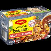 Maggi C Ur De Bouillon De B Uf Et Légumes Maggi, X6 Soit 132g
