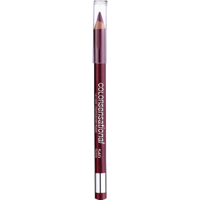 Rouge à lèvres color sensational crayon lèvres 540 hollywood red GEMEY MAYBELINE, nu