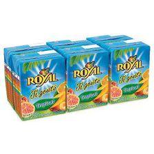 Briquettes de jus ,ROYAL,baf tropical  6X20CL