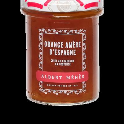 Marmelade d'orange amère d'Espagne écorces fines ALBERT MENES, 280g