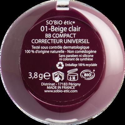 BB compact correcteur universel 5 en 1 - 01 beige clair - Sans étui