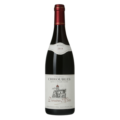 Chiroubles AOC rouge Domaine Morin, 75cl