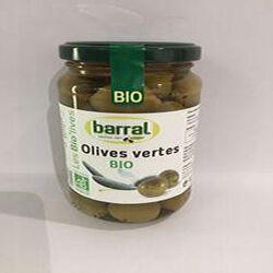 Olives Vertes BIO BARRAL